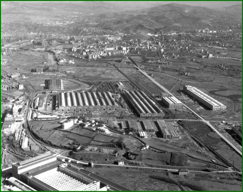 Vista aérea de Babcock & Wilcox. 1959.  (2)