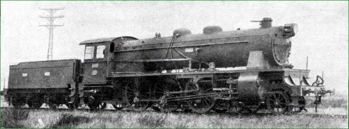 Babcock & Wilcox. Locomotora. 1930.
