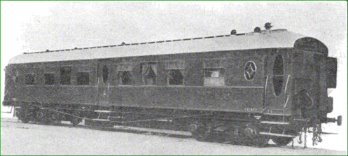 Coche salón para la Dirección General de Obras Públicas. La Naval, 1930.