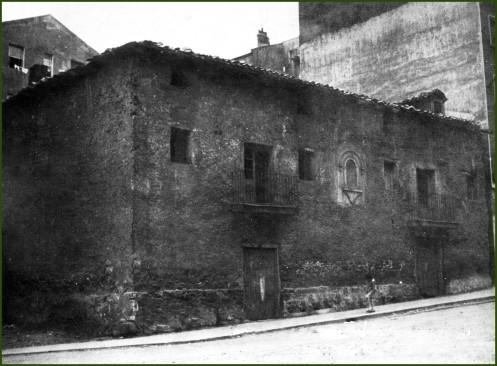 La Calleja. Casa Santa Rosa. Años 30.
