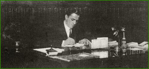 Alcalde de Sestao. David Juarreros Salinas. Enero de 1930.