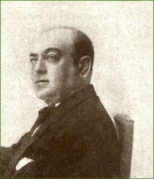 Alcalde de Sestao por la Unión Patriotica . Luis Ibarra Gandarias. Octubre de 1927.