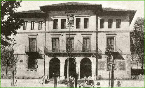 Ayuntamiento. Enero de 1930.