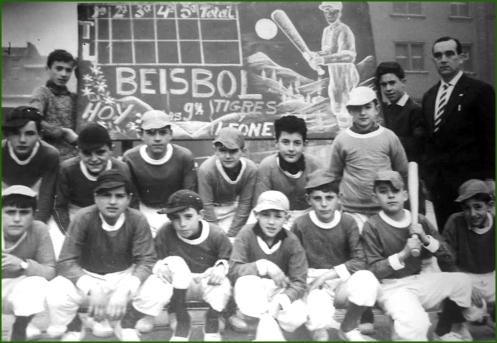 Equipo de béisbol de La SalleEquipo de béisbol de La Salle. Años 70.  Kaki Yoy