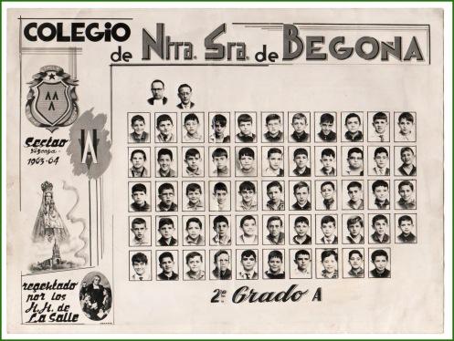 La Salle. Curso 196364.
