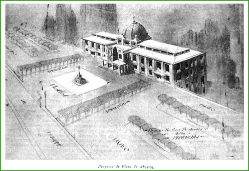Proyecto fallido para la nueva plaza de abastos. Enero de 1930.
