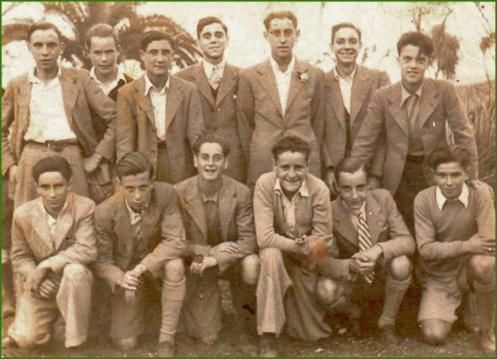 Amigos del Siempre Adelante. Junio de 1944. Blanca Pérez.