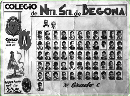 Colegio NªSª Begoña Curso 63 64 comp