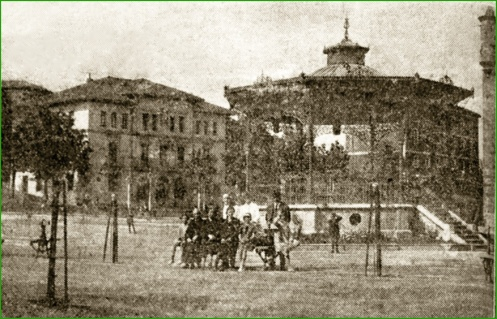 Plaza Alfonso XIII. 1928.