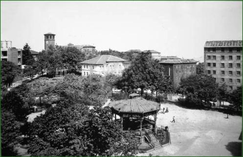 Plaza El Kasko. Años 50.