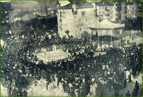 Fiestas de 1928.