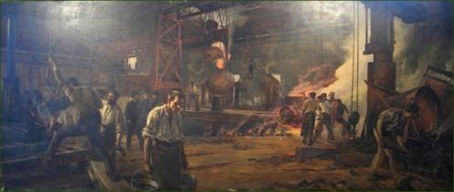 la-vizcaya-obreros-en-el-taller-de-convertidores-de-acero-robert-j-luna-y-novicio-1894